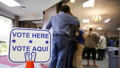 Some states have made it harder for Latinos to register to vote or cast...