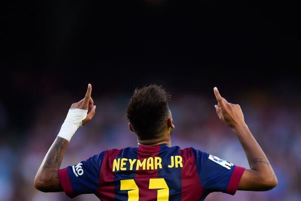 Barcelona goleó sin esforzrse al Granada con Neymar en plan estelar al c...