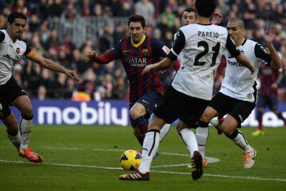 Con la ventaja en el marcador el Barcelona sominó a placer en los...