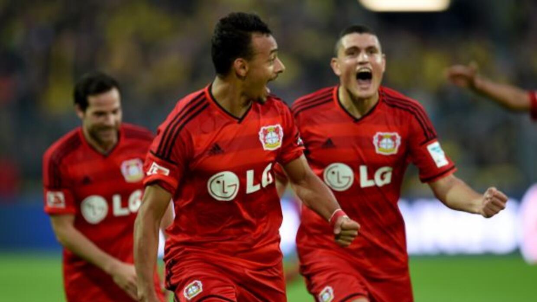 Karim Bellarabi anotó el gol más rápido en la historia de la Bundesliga...