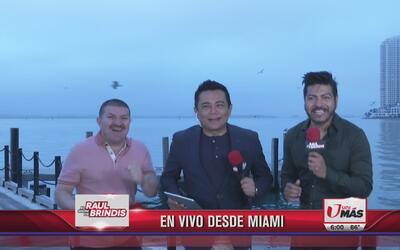 Raúl Brindis terminó la semana en el parque Bayfront en Miami