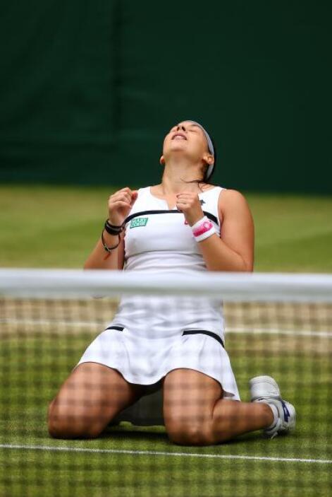 Bartoli disputa su Grand Slam número 44 consecutivo.