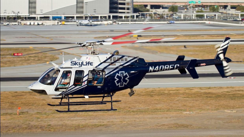 Accidente aéreo, helicóptero cae en California