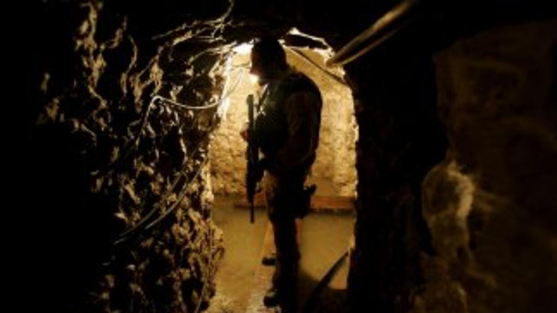 El pasadizo cuenta con un tramo de aproximadamente 40 metros acondiciona...