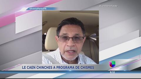 Programa de chismes confunde presencia de Silverio Pérez en el tribunal