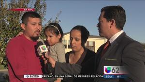 Se reúne con su familia tras ser arrestado por ICE