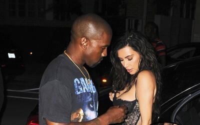 Kim Kardashian con otro atrevido look