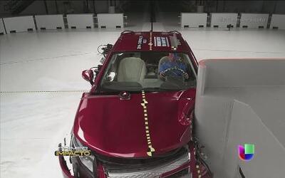 Los autos compactos más seguros ante impactos frontales