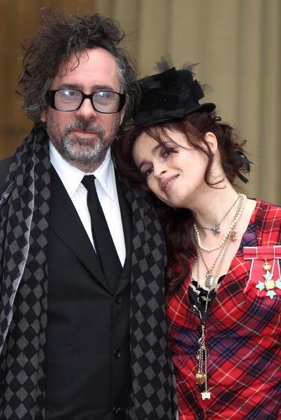 Helena Bonham Carter y Tim Burton son una pareja muy peculiar, se adoran...
