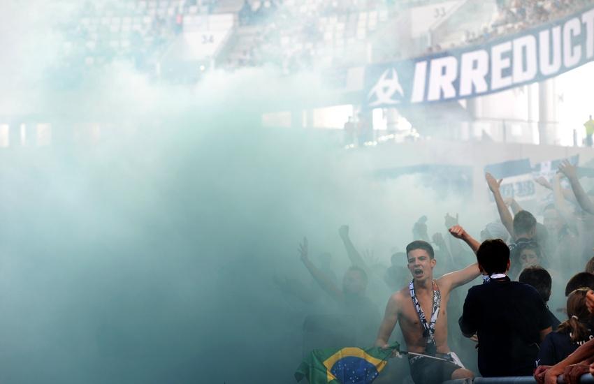 Fanáticos Burdeos (Foto Archivo)