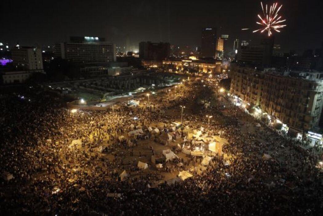 Las protestas, sin embargo, siguieron. El 12 de octubre por ejemplo, una...