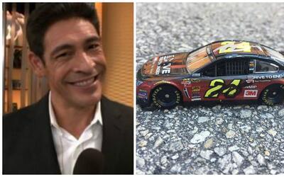 Johnny Lozada apostó su auto