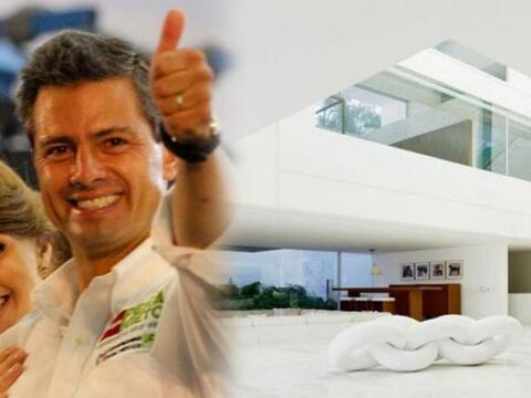 En las últimas horas la #CasaBlanca de Enrique Peña Nieto...