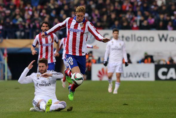 Fernando el 'Niño' Torres regresó al Vicente Calder&oacute...