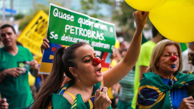 Los casos de corrupción han indignado a los brasileños.