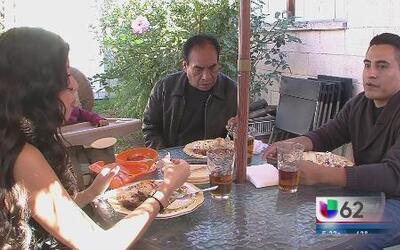 Migrantes viven un Thanksgiving agridulce