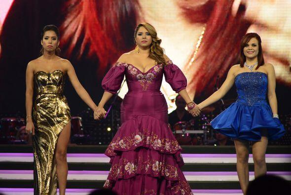 En la tercera gala, fue un duelo de guerreras: Virginia, Vivian y Ana Cr...