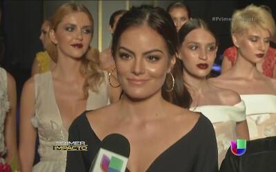 Ximena Navarrete podría estar cerca del altar, pues ya tiene vestido