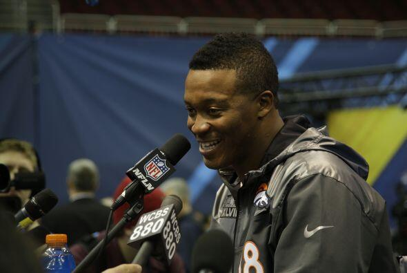 Thomas dijo que la más emocionada con el juego es ¡su mamá! (AP-NFL).