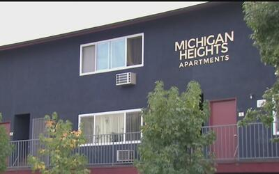 Inquilinos de Michigan Heights Apartments impiden el aumento a su alquiler
