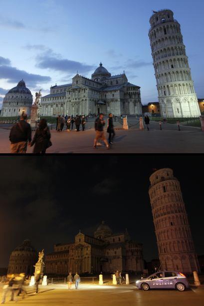 En Italia, edificios, sedes de instituciones públicas y privadas, y 280...