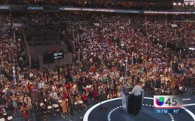 Seguridad nacional, el tema del tercer día de la Convención Demócrata