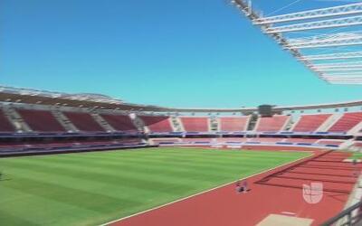 La Portada, el estadio donde debutará Argentina