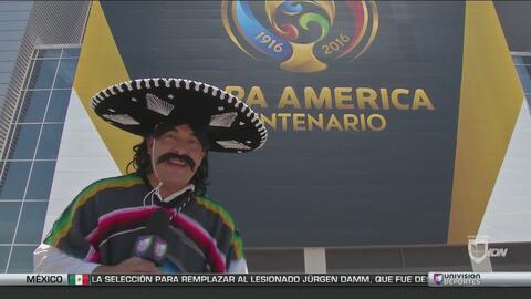 Kevin Arnulfo llegó con sus locuras a la Copa América Centenario