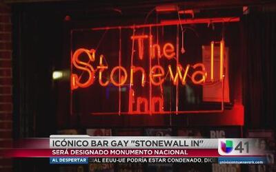 Monumento nacional The Stonewall Inn en NYC