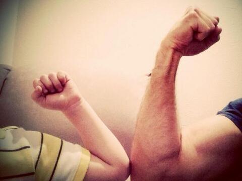 Sebastián unió fuerzas con su hijo Santiago. Y es que el g...