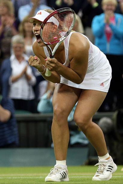 En duelo teutón, Angelique Kerber superó a Sabine Lisicki, verdugo de la...