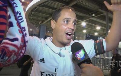 Reacciones de los fanáticos después de la Final de Champions en Milán