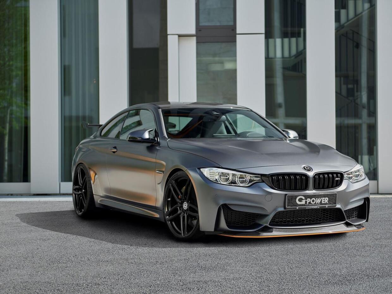 El preparador G-Power inyecta 115 HP adicionales al BMW M4 GTS