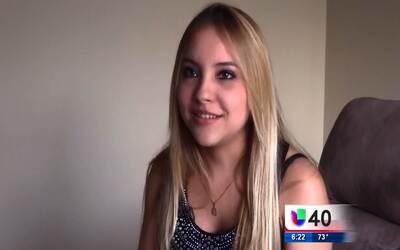 Una joven colombiana busca representar a Raleigh en un concurso de belle...