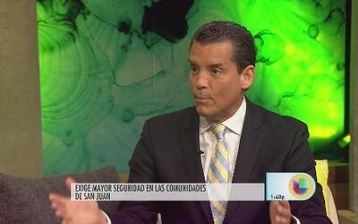 Leo Díaz dice que hay un estado de emergencia en San Juan