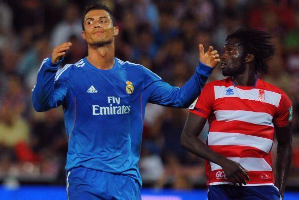 Cristiano Ronaldo se fue del encuentro sin gol en su cuenta personal.