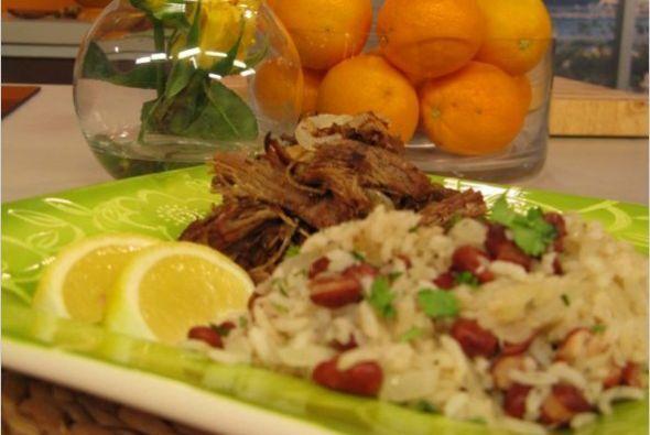 Vaca frita cubana: El vacio que usamos para preparar esta Vaca Frita es...