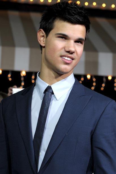 El galán Taylor Lautner nació el Michigan el 11 de febrero de 1992.