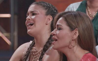 Las concursantes sorprendieron a José Manuel Figueroa cantando 'Tatuajes'