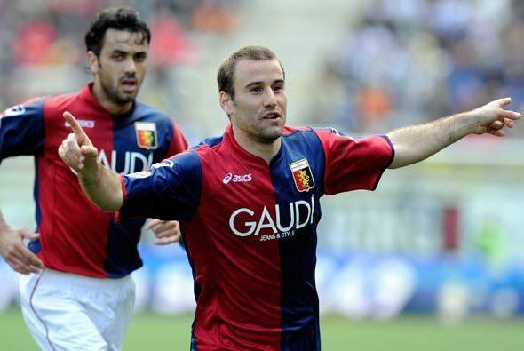 El marcador final fue de 3-2, con triunfo para los genoveses con dos gol...