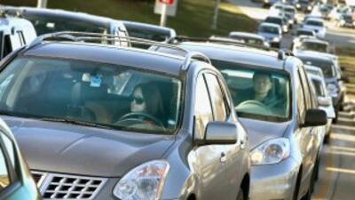 Toma en cuenta un factor que intimida: la terrible congestión vehicular...