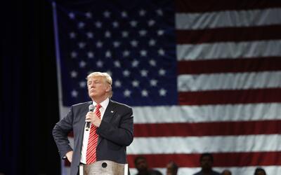 Las declaraciones de Trump, permanente fuente de problemas para la campaña