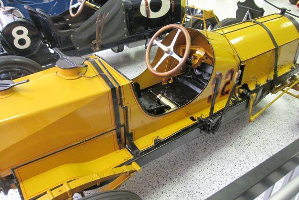 Auto que ganó la primera edicion de las 500 millas en 1911.