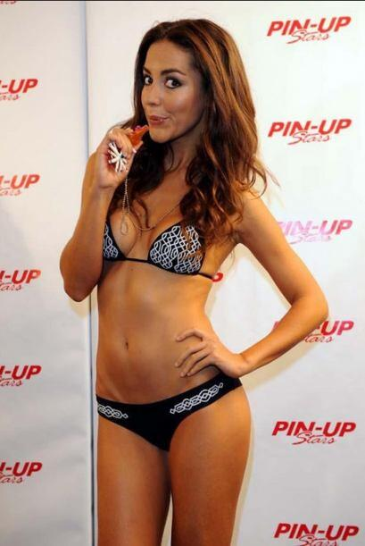 La modelo y presentadora española, Laura Barriales, será l...