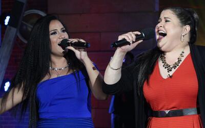 Olivia Calderón y Lluvia Vega le entraron con todo a la música de banda