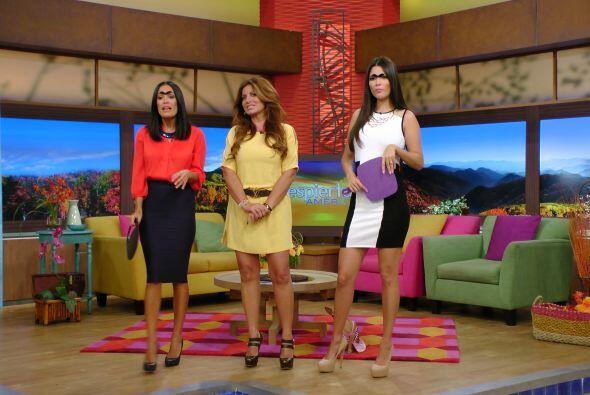 ¿Qué tal? Karlita y Ana Patricia dieron el cambiazo.