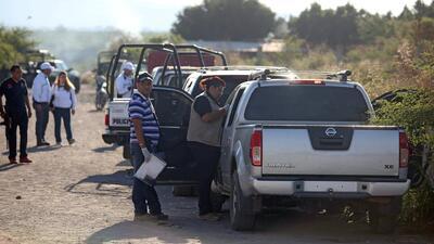 Surgen imágenes del tiroteo que dejó 11 muertos en Michoacán