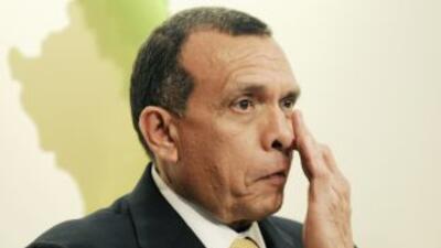 El presidente de Honduras, Porfirio Lobo.