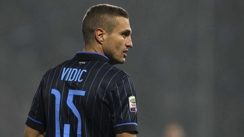 Vidic no tuvo minutos esta temporada con el Inter.