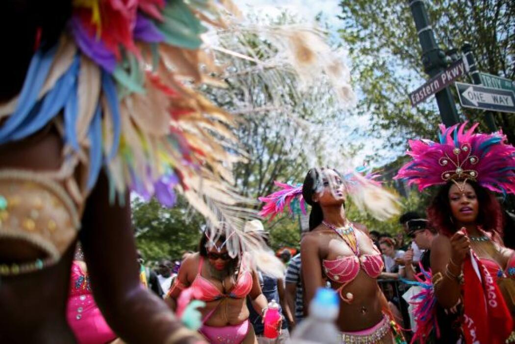 El desfile es la culminación del West Indian Carnival, un evento que dur...
